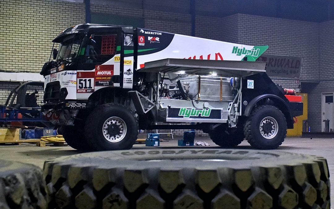 Kressovy kamiony míří na Dakar