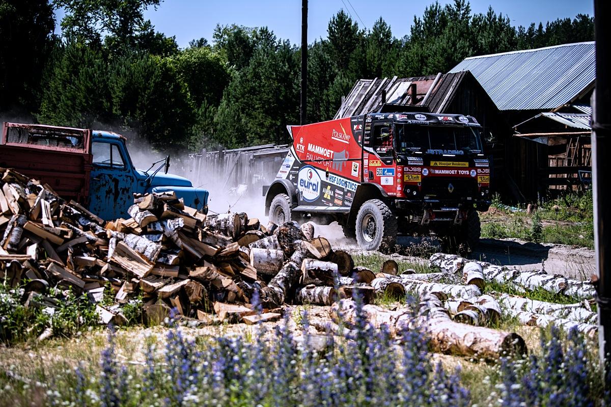 Kamion MKR Technology ve 2. etapě Silk Way Rally. Foto: MCH