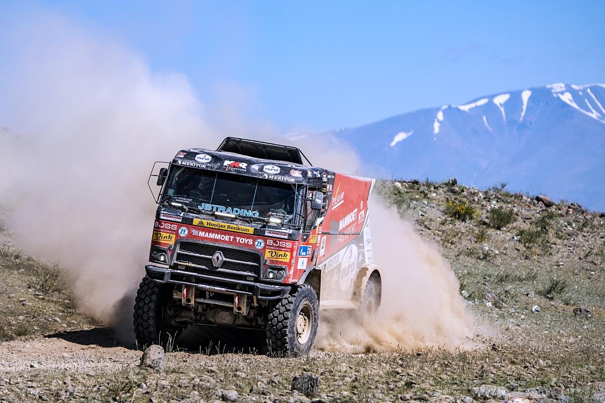 Kamion od MKR Technology ve 4. etapě Silk Way Rally. Foto: MCH