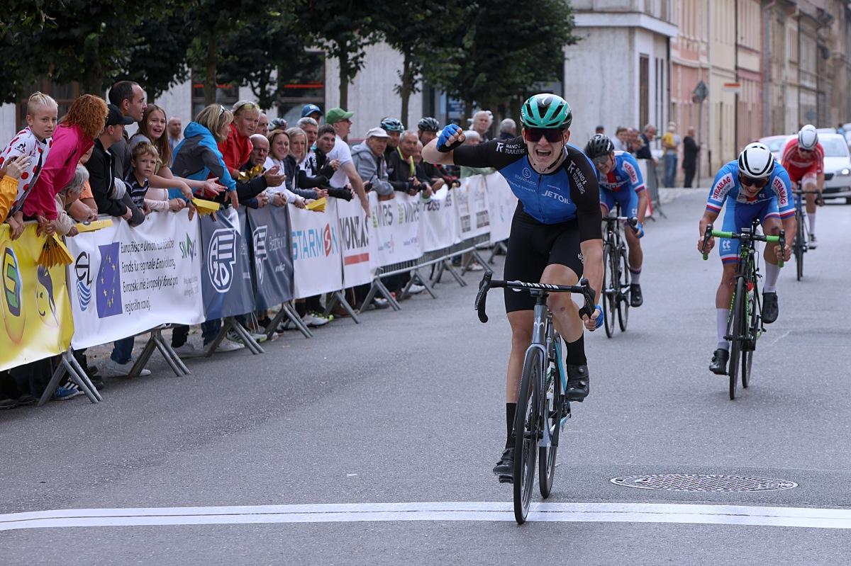 V Terezíně vyhrál Estonec Romet Pajour. Foto: Patrik Pátek/PatRESS.