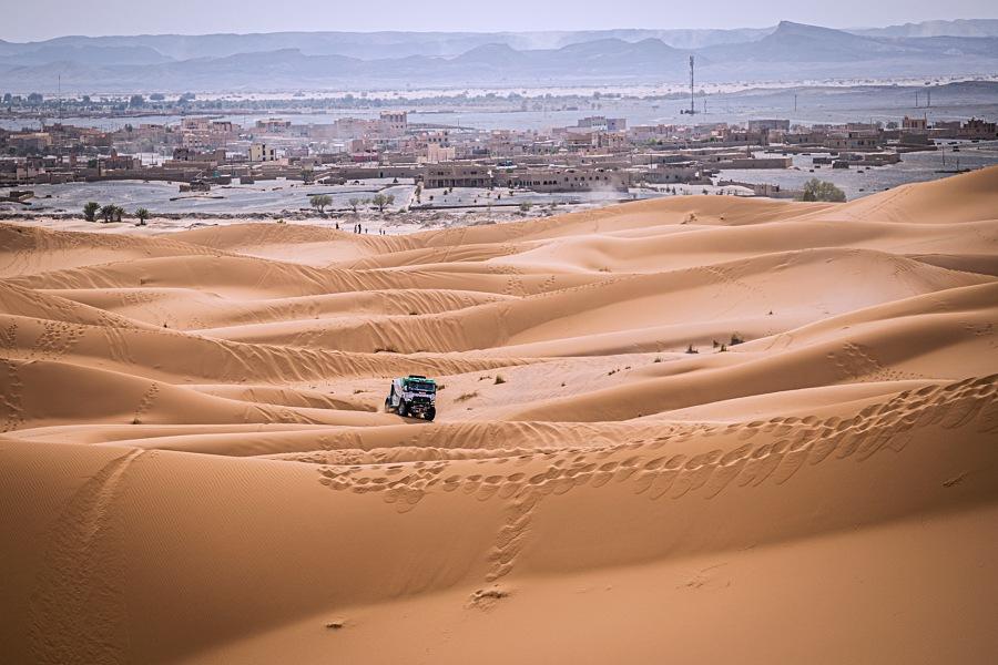 Huzink po největších dunách dojíždí druhý